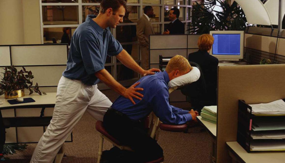 Vantagens da massagem laboral